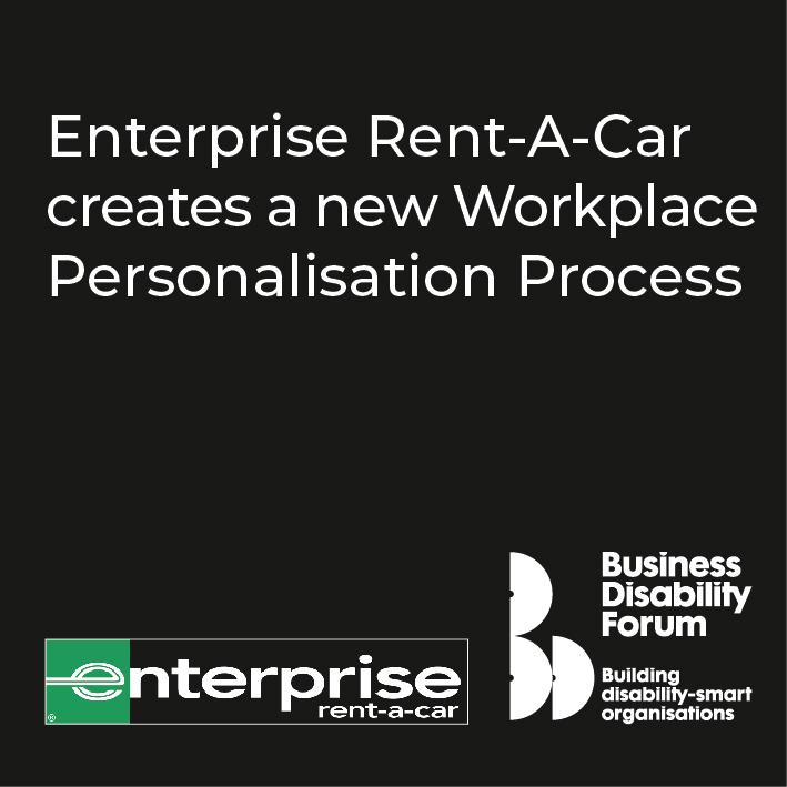 Enterprise Rent-a-Car creates a new workplace personalisation process