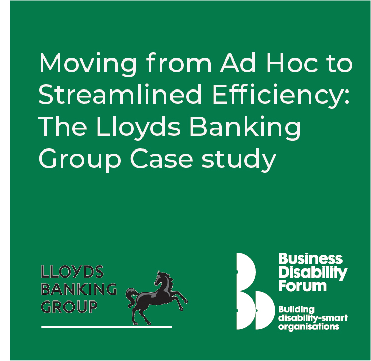 Download Lloyds Banking Group Workplace Adjustment Case Study