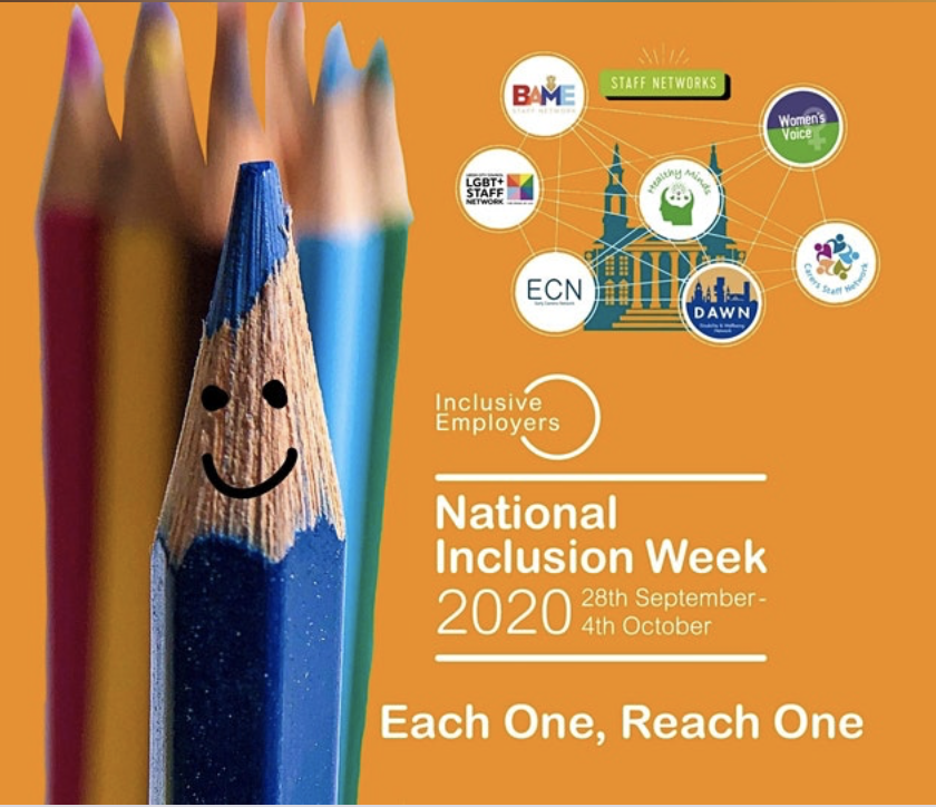 National inclusion week webinar
