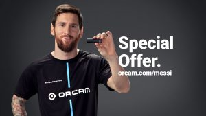 Leo Messi, Special offer for OrCam