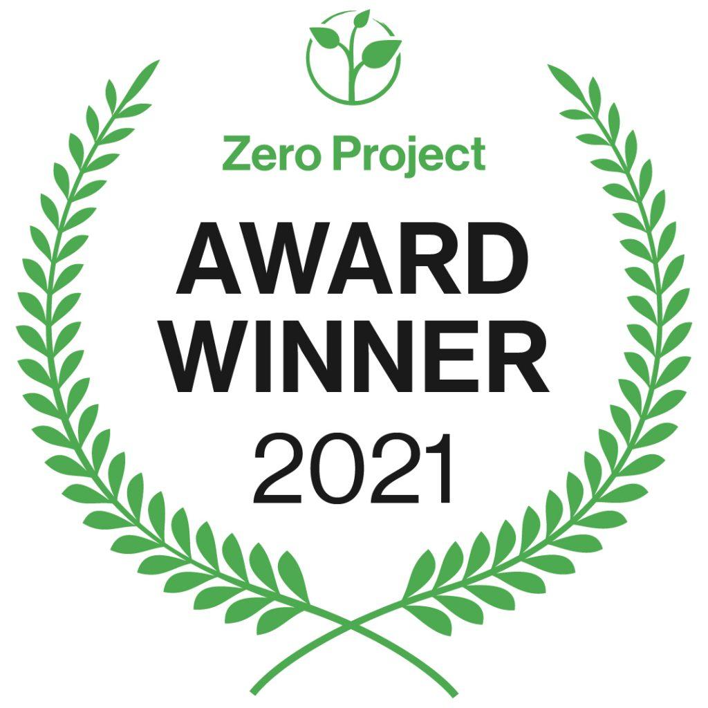 Zero Project Award Winner 2021