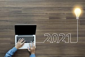 A man with a laptop, written 2021