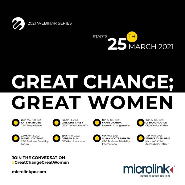 Great Change; Great Women webinar series