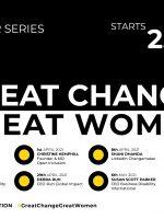 Great Change; Great Women webinar series