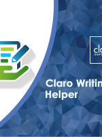 Claro Writing Helper helps you organise your written assignments